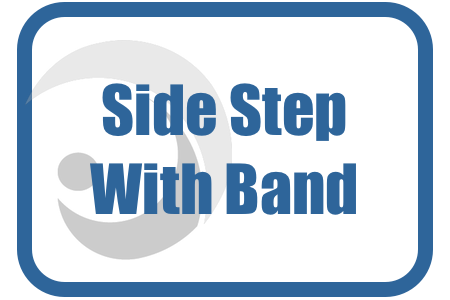 Sidestep With Band At Shins