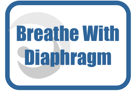 How to breathe well with Diaphragm