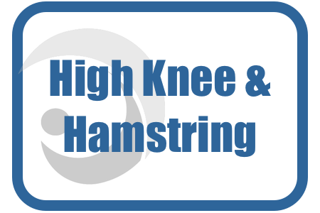 High knee with hamstring extension